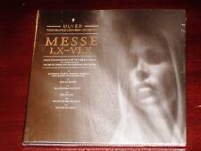 Ulver: Messe I.X - VI.X CD 2013 Tromso Orchestra KScope / Jester Digibook NEW