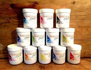 ZENICOLOR SOLO - 12 x 60g Pots (Full Size) - Melt & Pour and Cold Process Pigmen