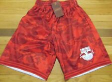 MITCHELL & NESS MLS NEW YORK RED BULL RED CAMO SHORTS SIZE S