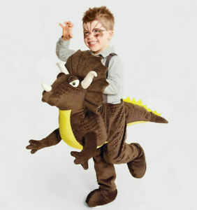 Triceratops Dinosaur Ride On TODDLER One Size Rider 3D Plush Costume