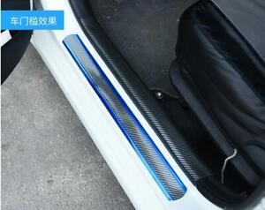 Car Accessories Scuff Plate Door Sill Cover Rear Bumper Protector Pedal 2.5*0.05