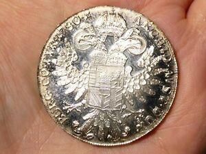 Re-strike Silver 1780 Austria Maria Theresa 1 Thaler Silver Coin 28g BEAUTIFUL#2