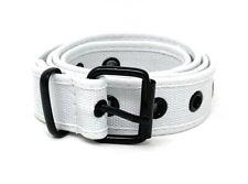 Casaba Canvas Belts Stylish 1 Hole Grommet Fabric Military Mens Women Unisex