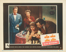 THE GLASS MENAGERIE - 1950 - LOBBY CARD - ALL FOUR STARS PICTURED - MINT - RARE