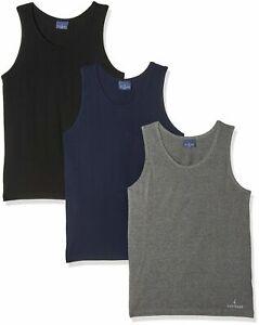 3 Piezas Camiseta de Tirantes Hombro Larga Navigare 572 Algodón Elástico Sin