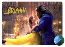 Personalised Beauty & the Beast 2 - Belle - Easy Wipe Clean - EVA Sponge Backed