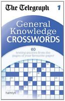 The Telegraph: General Knowledge Crosswords 1 (The Telegraph Puzzle Books),THE