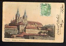 CZECHOSLOVAKIA 12-PRAHA -1908 Klâster v Emausich