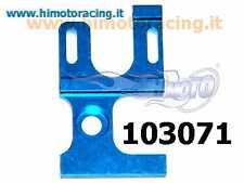 103071 Supporto motore elettrico in ergal blue Himoto