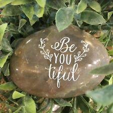 Engraved Rock ~ Beautiful | Be*You*tiful | Inspirational Stone | Word Rocks