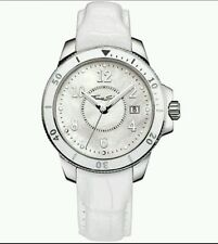 Wa0125 NEU Original Thomas Sabo S/S IT Girl Weiß MOP Watch Auf Leder £ 235