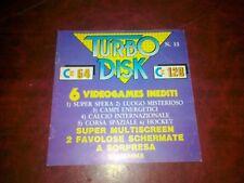 Libretto TURBO DISK 64 n.13 x Commodore 64 numero 13 originale c64