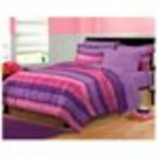 Bedding Comforter Set Twin Size Bed in a Bag Bedroom Sheet Quilt Cover Purple