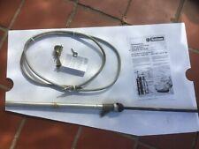 Hirschmann Black manual antenna, Porsche 911 F & G models, OE