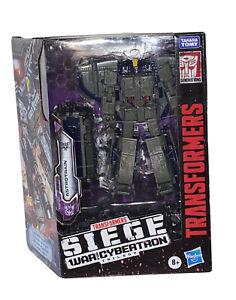 "Astrotrain Transformers Siege War For Cybertron 8"" Action Figure Decepticon NEW!"