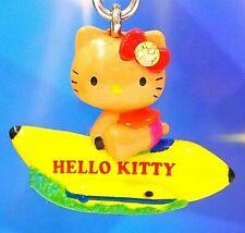 Hello Kitty Loves Playing Banana Boat Swarovski Elements Crystal Japan Charm