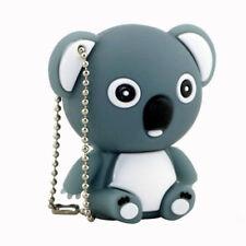 8Go USB 2.0 Clé USB Clef Mémoire Flash Data Stockage / Koala Gris