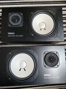 Yamaha NS-10M matching pair of vintage monitors