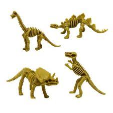 4pcs/set Dinosaur Toys Fossil Skeleton Simulation Model Set Mini Educational Toy