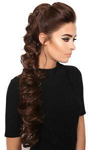 LullaBellz Super Long Clip In Luxe Volume Hair Piece Extension