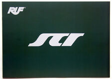 RUF Porsche SCR - Prospekt / Katalog Brochure brandneu vom Genfer Autosalon 2018