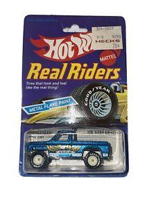Hot Wheels 1983 Real Riders Bywayman #4361- Blue w/Eagle - White Hubs - NIP