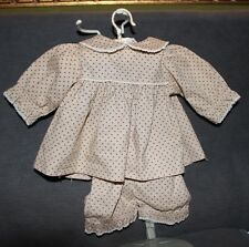 "Vintage Style 1950's Doll Dress & Shorts For 18"" Doll Quilt Material By Michell"
