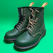 New Dr Martens 1460 Shamrock Leather Lace up boots Green Size Women's Size 6