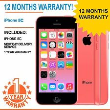 IPhone Apple 5C da 8GB EE Arancione T-Mobile Virgin-Rosa