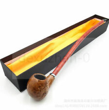 UNIQUE HAND CARVED Wooden Tobacco Smoking Pipe / Pipes / HOOKAH + FREE GIFT!