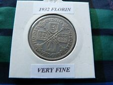 More details for very fine? 1932 florin  (silver .500)  george v pre 1947  key date