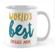 Novelty Lurcher Mug, Ideal gift for any Lover Lurchers.