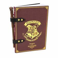 Harry Potter Hogwarts Crest Notebook Wand Pencil Set - Journal School Stationery