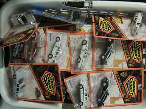 LOT of 6(SIX) ROAD CHAMPS Police Car NEW IN BLISTER PACKS