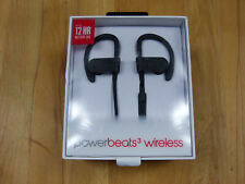 Monster Beats by Dr. Dre powerbeats 3 Wireless negro!! nuevo! OVP! rar!