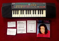 Vintage Casio SA-35 Digital Synthesizer Electronic Keyboard Michael Jackson RARE