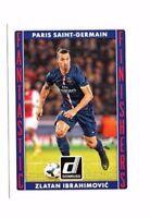 Zlatan Ibrahimovic 2015 Panini Donruss Soccer, Fantastic Finishers !!