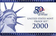 2000 US State quarters proof collection and Mint proof set with COA (2 sets)