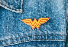 Wonder Woman Comic Superhero Book Pin