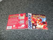 REPLACEMENT NINTENDO GAMEBOY GAME DS CASE BOX - POKEMON RED