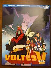 Voltes V Complete Series Blu Ray SDBD Official Discotek Anime
