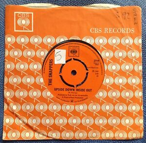 THE SNAPPERS - UPSIDE DOWN INSIDE OUT rare UK 1967 / MOD / PSYCH / MINT- !!!