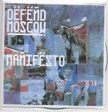 (332C) Defend Moscow, Manifesto - DJ CD