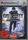 Call of Duty - World at War - Final Fronts ( PlayStation2 ) Platinum