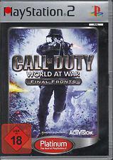 Call of duty-World at War-final fronts (PlayStation 2) Platinum
