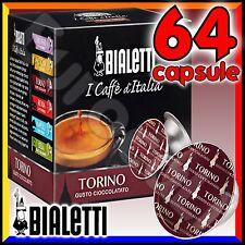 64 Capsule caffè BIALETTI TORINO cialde Mokespresso alluminio espresso Mokissima