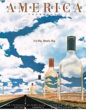 PUBLICITE ADVERTISING  1996  USA  PERRY ELLIS  parfum AMERICA