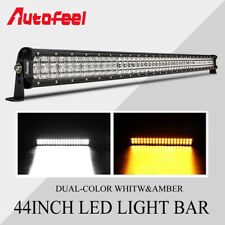 "44"" LED Light Bar 1152W Spot Flood Combo Beam Fog Lamp Offroad Truck SUV 42/40"