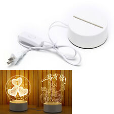 1pc Lamp Bases For 3D LED Night Light Replacement Lamps Lights HolderES