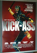 Cinema Poster: KICK-ASS 2010 (One Sheet) Nicolas Cage Chloe Moretz Mark Strong